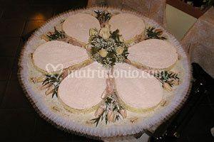 Torta nuziale Villa Regina