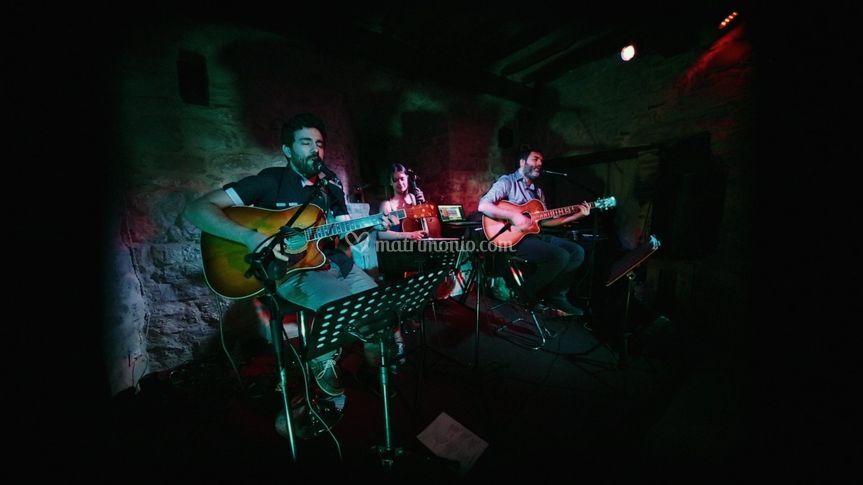 I Piffi live -  trio elegante