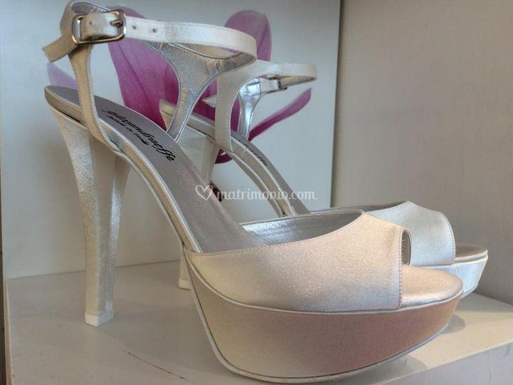 Sandalo tacco 130