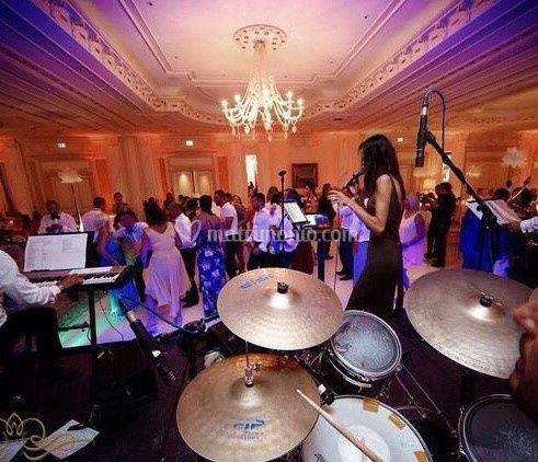 Live Band Luxury Wedding