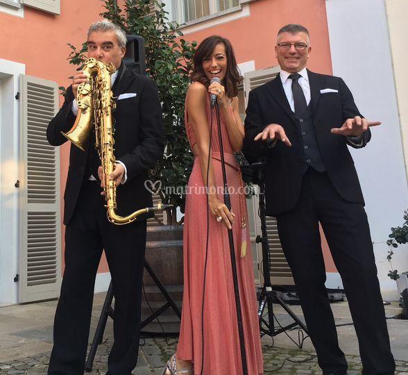 Trio voce sax piano