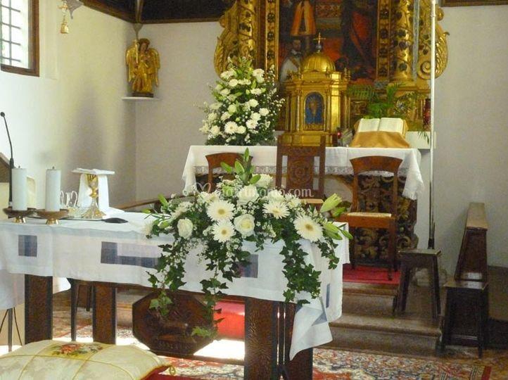 Bouquet di altare