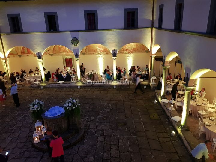 Wedding  nel chiostro