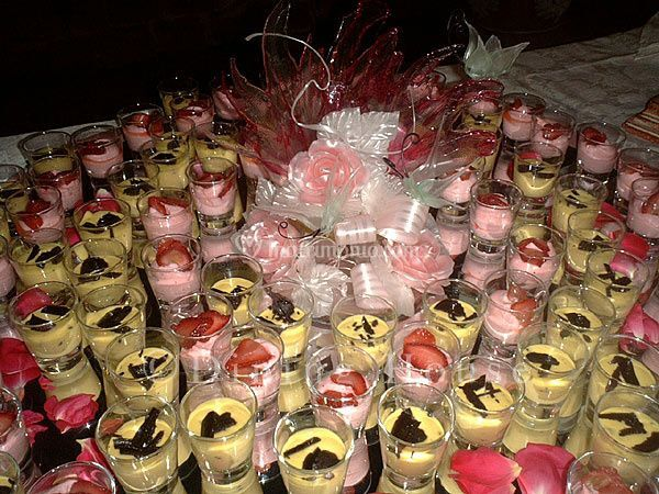 Buffet di dolci finger food