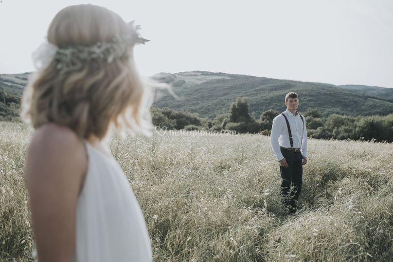 Boho chic matrimonio