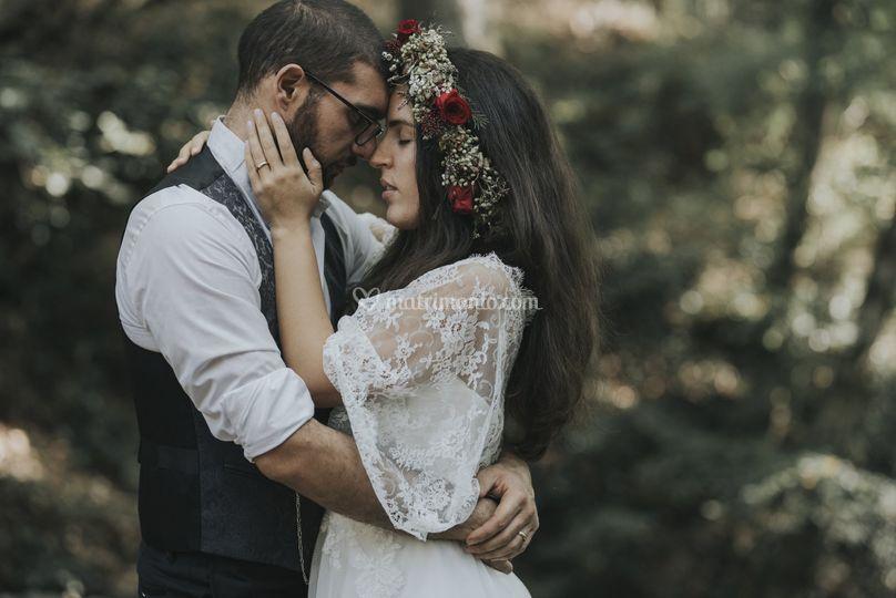 Boho chic sposi