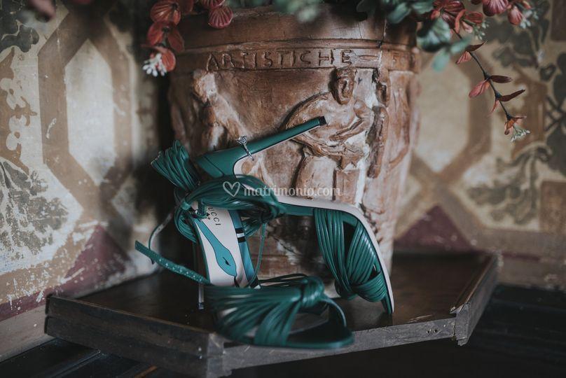 Scarpe sposa gucci