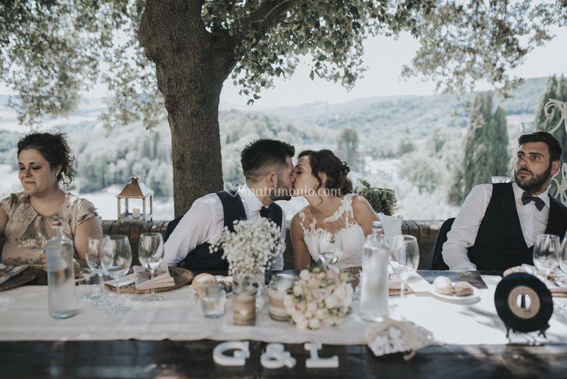 Matrimonio tenuta mocajo