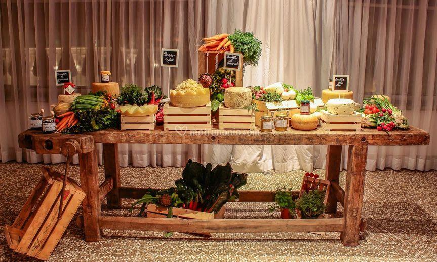 Buffet Rustico Matrimonio : Buffet antipasti rustico di palazzo exedra boscolo