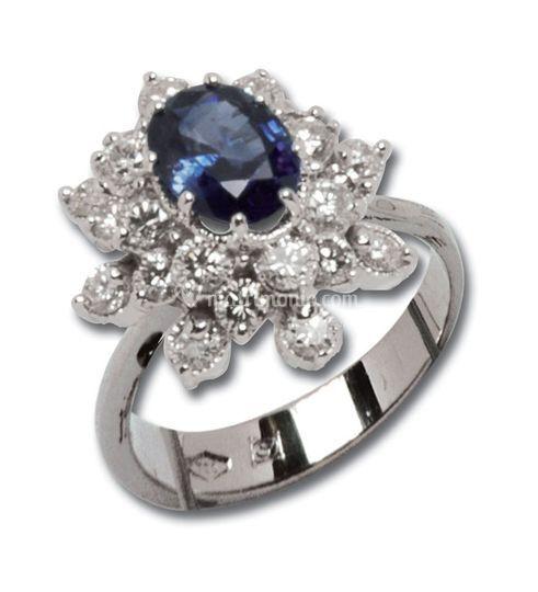 Oro zaffiro diamanti