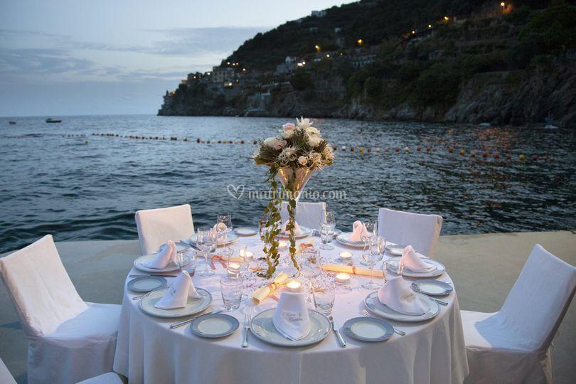 Tavolo al mare