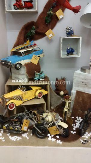Modellini auto in metallo