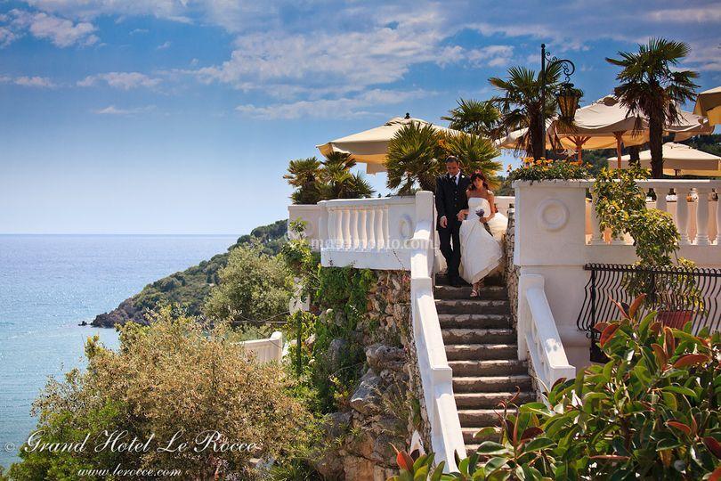 Matrimonio Spiaggia Gaeta : Grand hotel le rocce