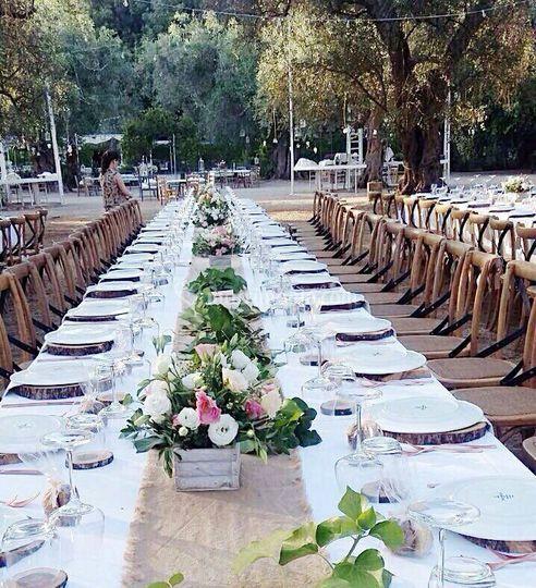Il giardino segreto for Decorazione giardino matrimonio