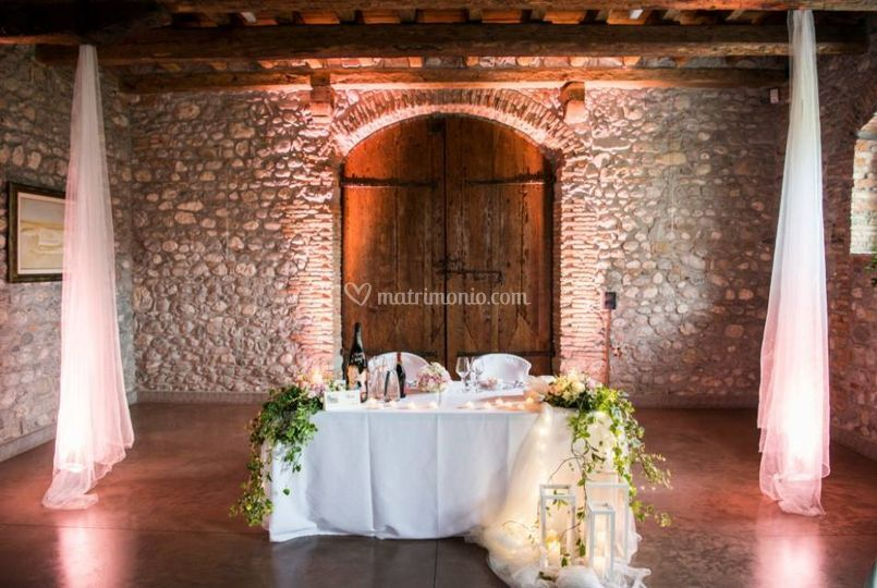 Villa de claricini for Sala degli sposi