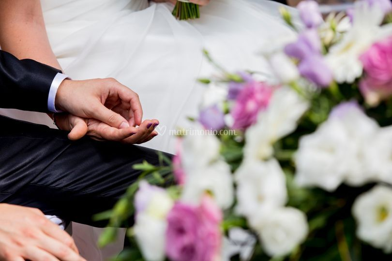 Mani degli sposi