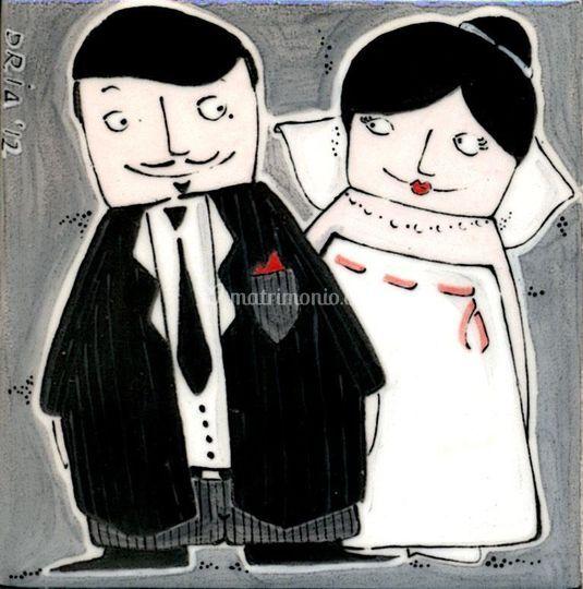 Mattonella di nozze