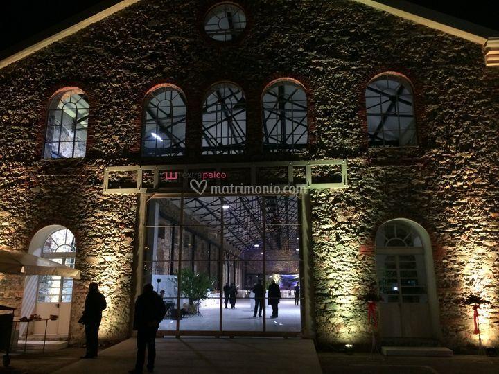Illuminazione facciata Carrara