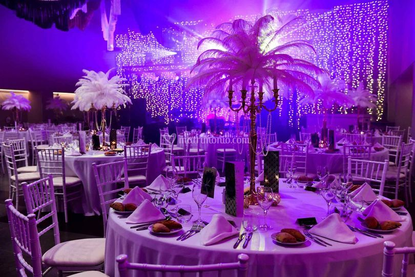 Night wedding Apulia
