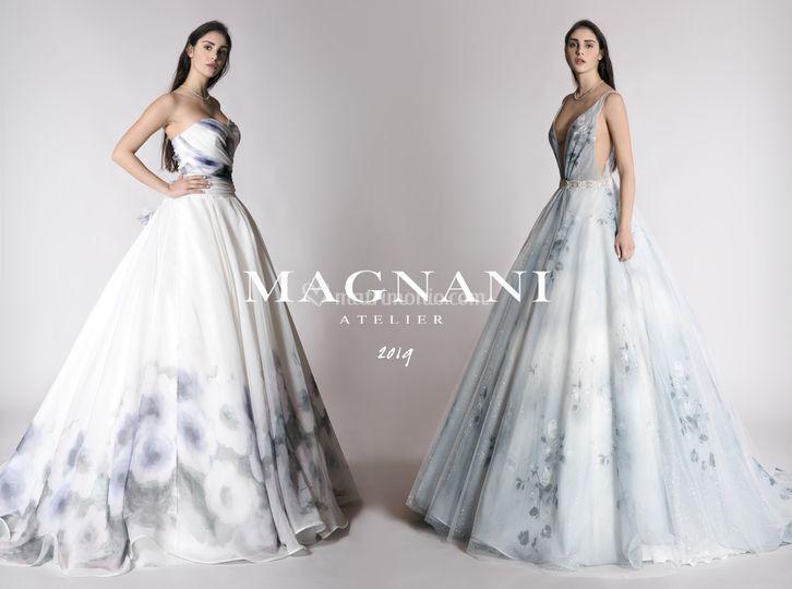 7043c70cd2a1 Magnani Atelier Abito da sposa 2019