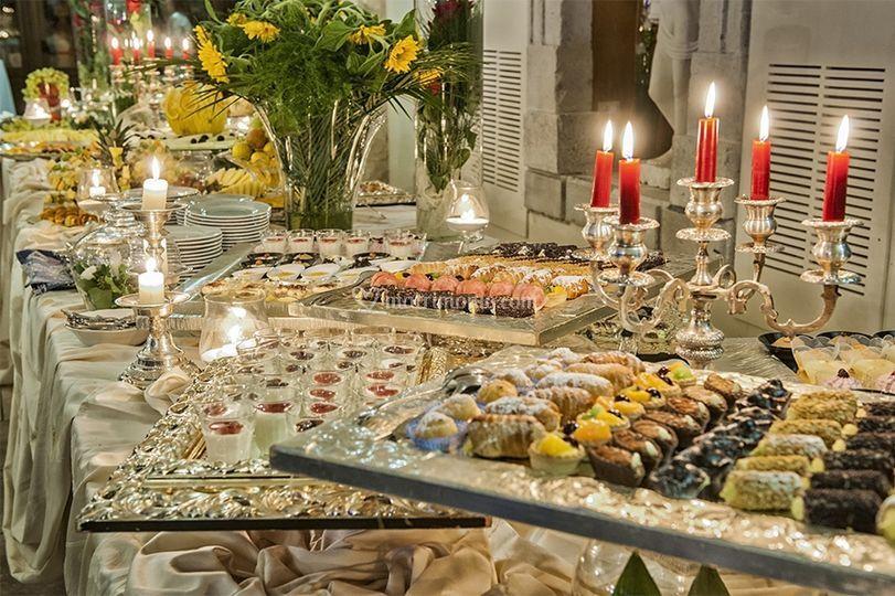 Buffet Di Dolci E Frutta : Buffet di dolci e frutta foto di hotel dell amarissimo