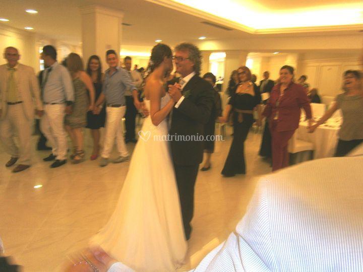 Il ballo col papà