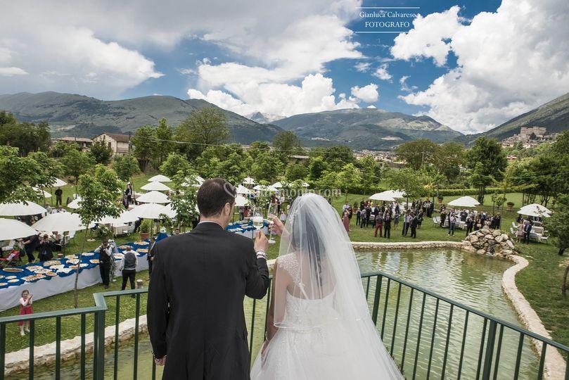 Parco le gole-matrimonio