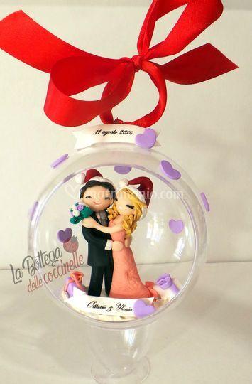 Decorazione di Natale per spos