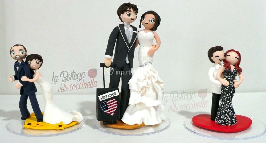 Cake toppers 12 e 17 cm