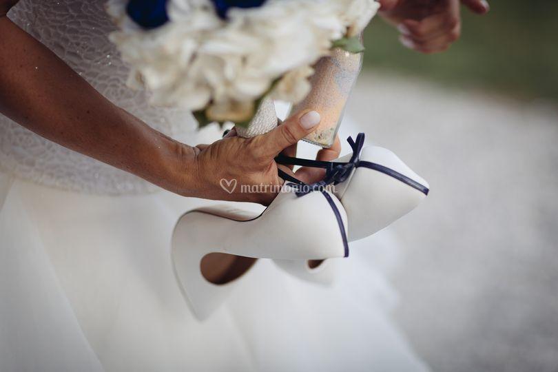 Consulenza scarpe e bouquet
