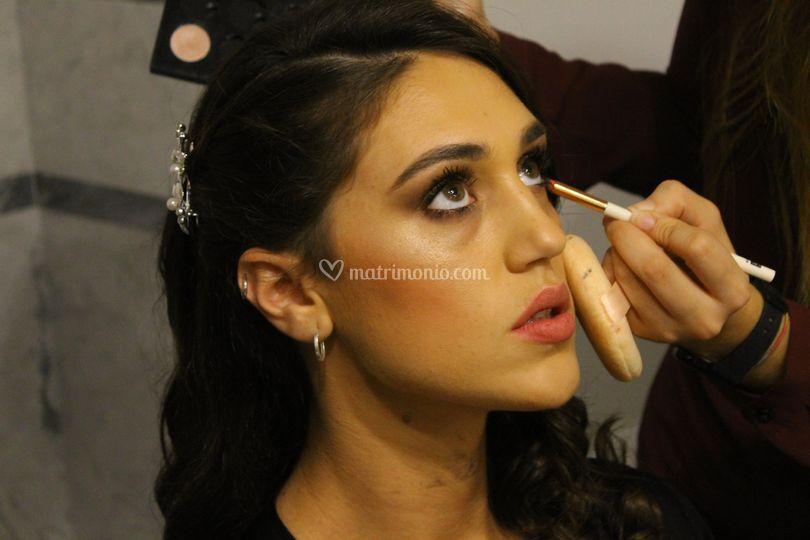 Make up per Cecilia Rodriguez