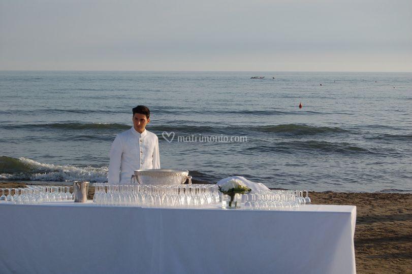 Celebrazione al Dalmazia Beach