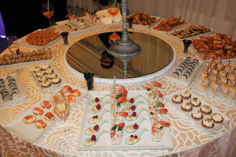 Buffet aperitivo