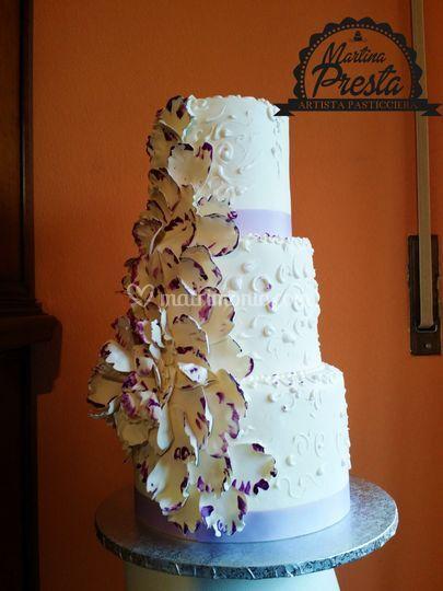 Fiori in pasta di zucchero