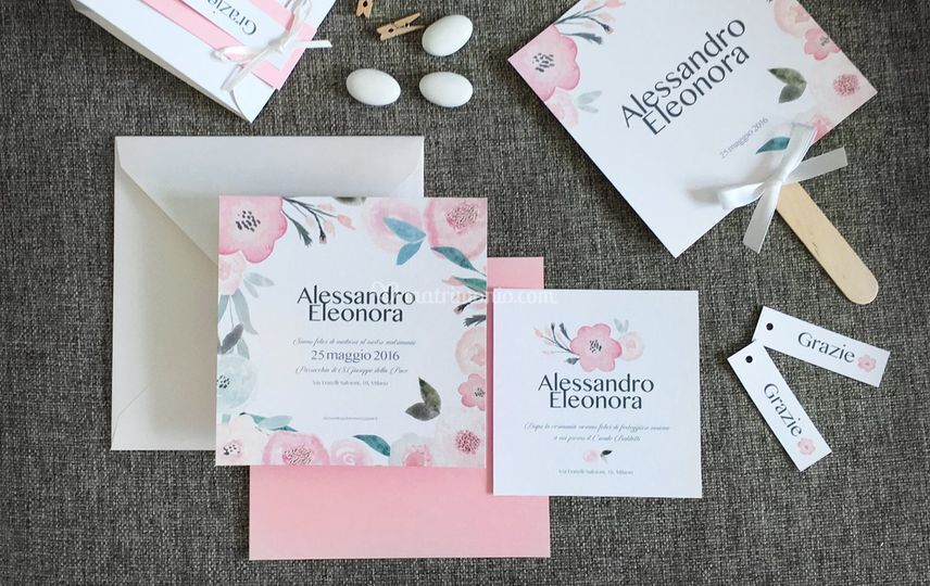 Suite grafica matrimonio