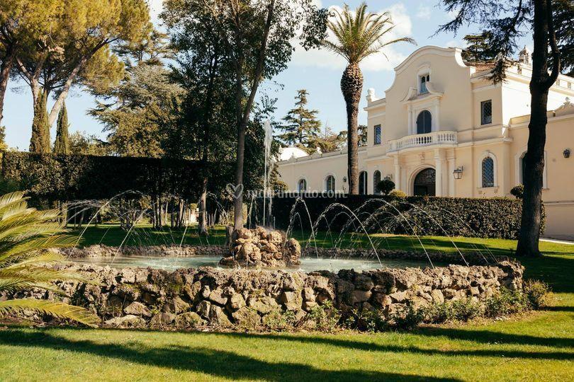 Fronte villa di Tenuta S.Antonio