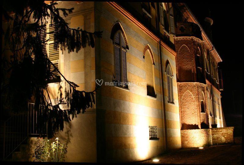 La Casa padronale di notte