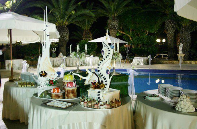 New paradise for Matrimonio bordo piscina