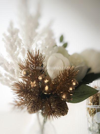 Bouquet invernale ecofriendly