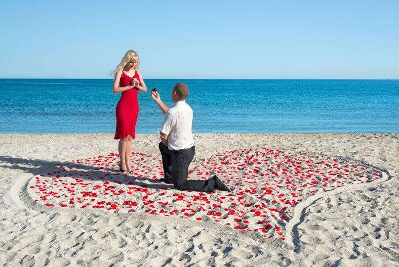 Proposta marryage sardegna