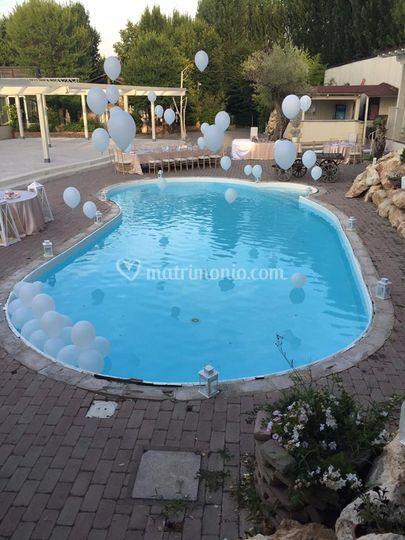 Particolare piscina di villa prugnolo foto - Piscina san giovanni in persiceto ...
