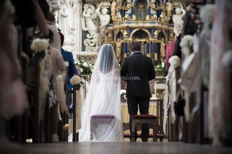 Gli sposi e la chiesa