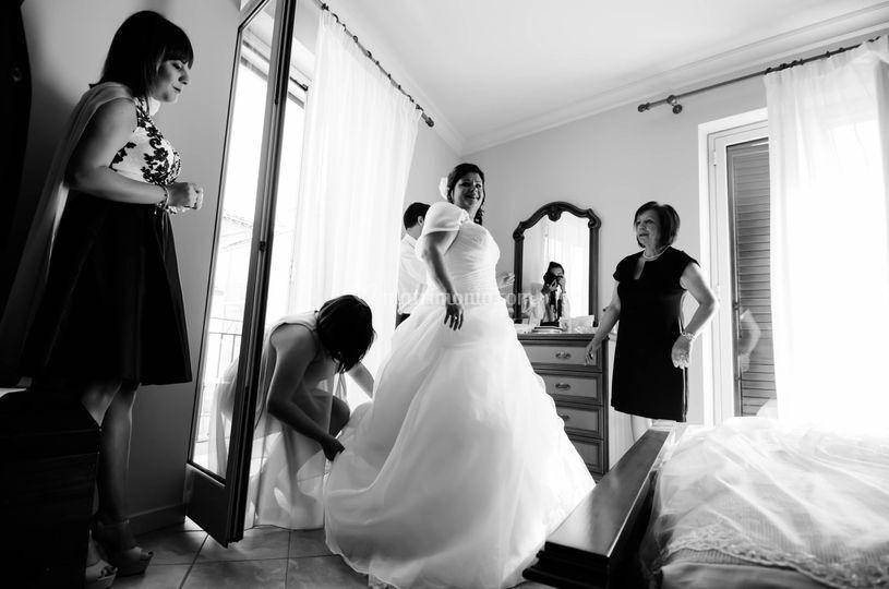 La sposa e il vestito