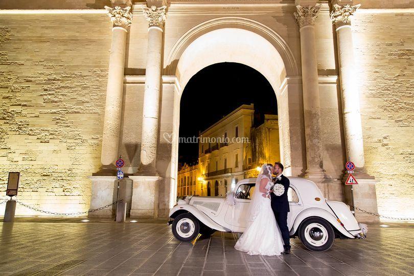 Porta Napoli a Lecce