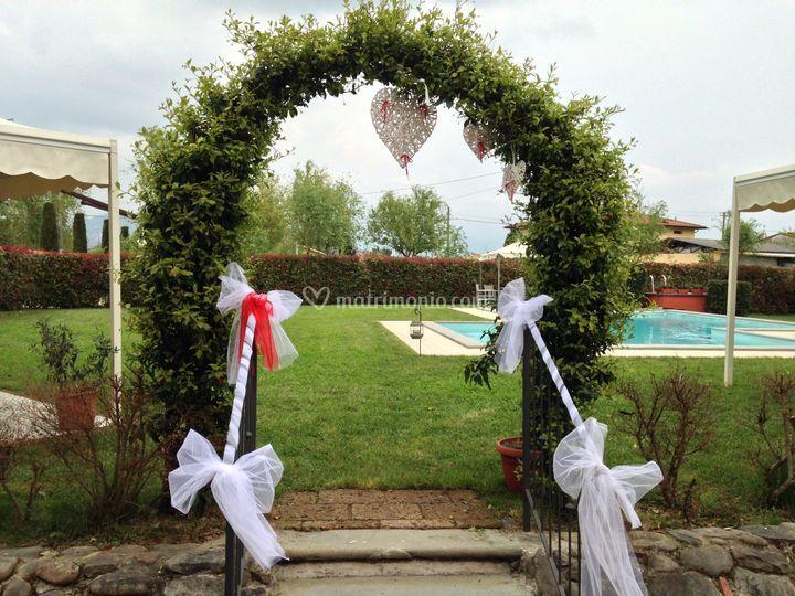 Arco giardino di casolare dei fiori foto 28 for Arco decorativo giardino