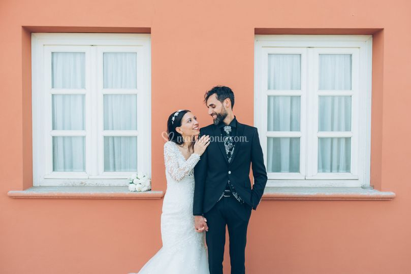 Sposi-Castello Rosso