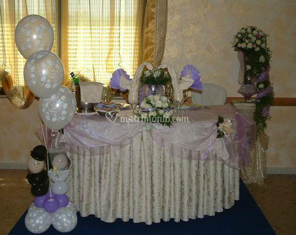 Sposi tavoli