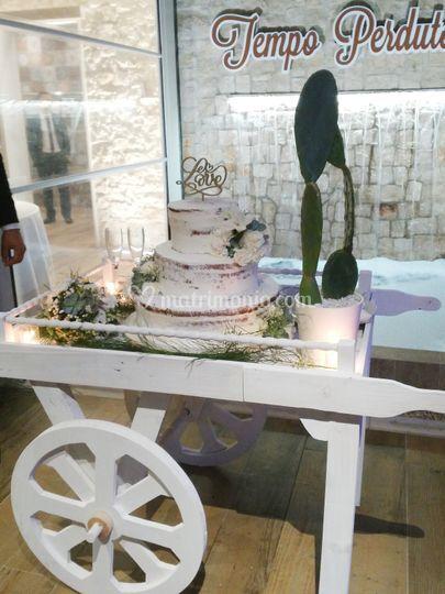 Sicilian wedding cake