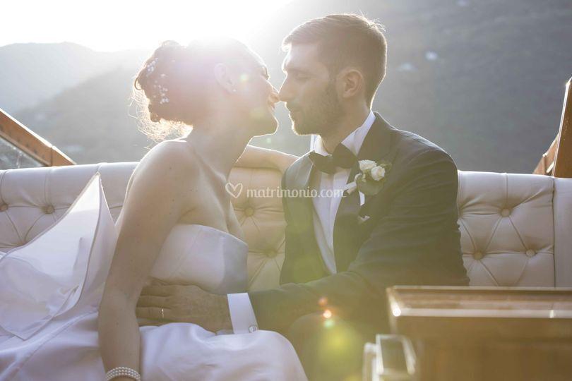 Il sole, un bacio...