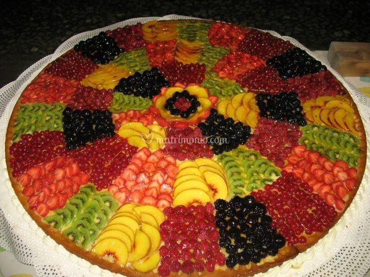 Torta Nuziale Alla Frutta Di Ristorante Bussoladue Hotel